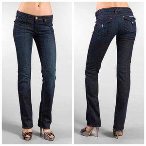 HUDSON USA Straight Leg Dark Blue Jeans